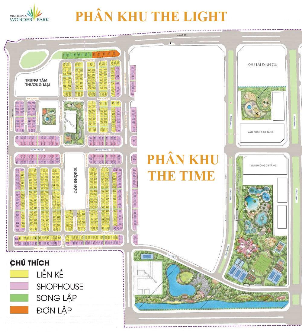 Phân-khu-the-light-Vinhomes-Wonder-Park-Đan-Phượng