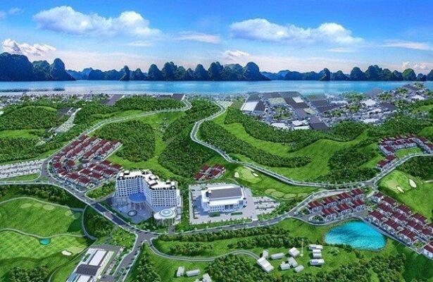 Phối cảnh dự án Khu đô thị phức hợp Hạ Long Xanh. Ảnh: UBND tỉnh Quảng Ninh.