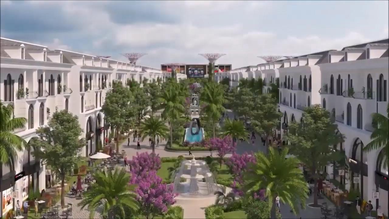 phố đi bộ 2 vinhomes dream city hưng yên