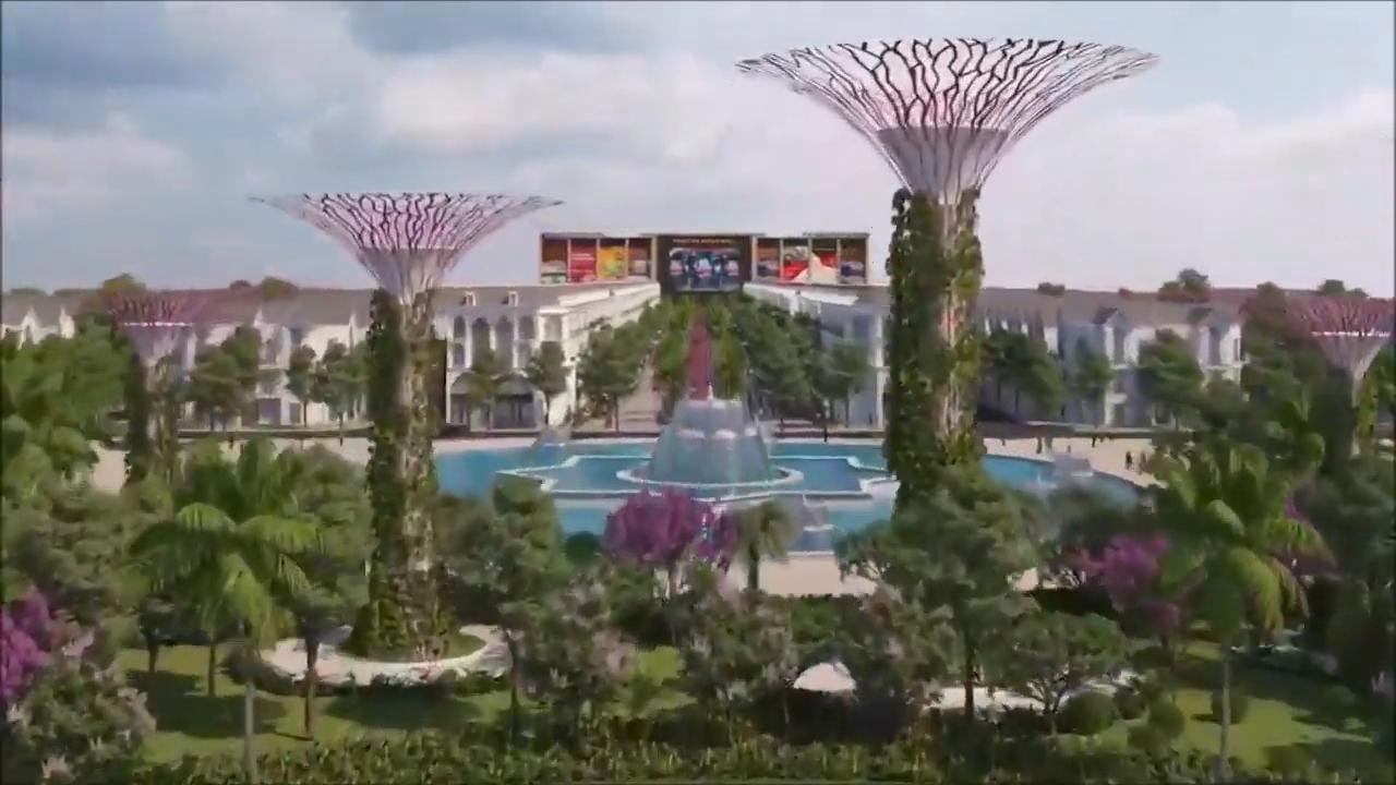 công viên trung tâm vinhomes dream city hưng yên